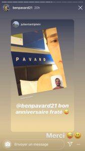 Pavard répond à Tanti