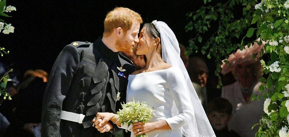 Meghan et Harry mariés