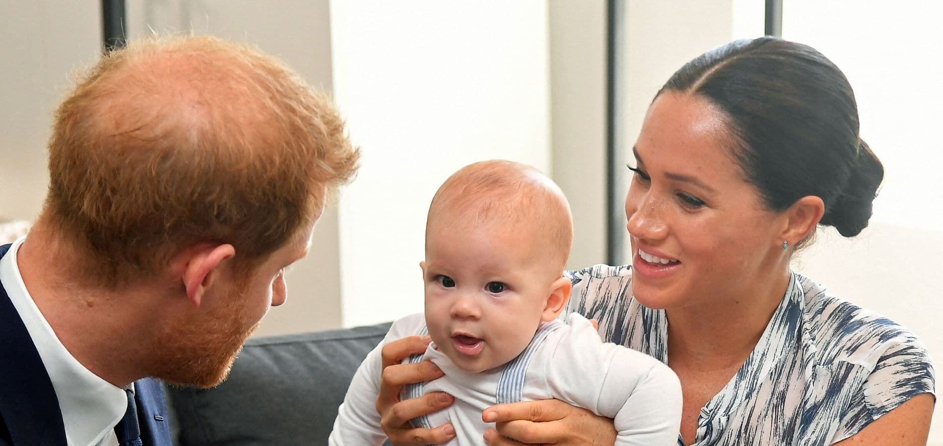 Harry, Meghan et leur fils