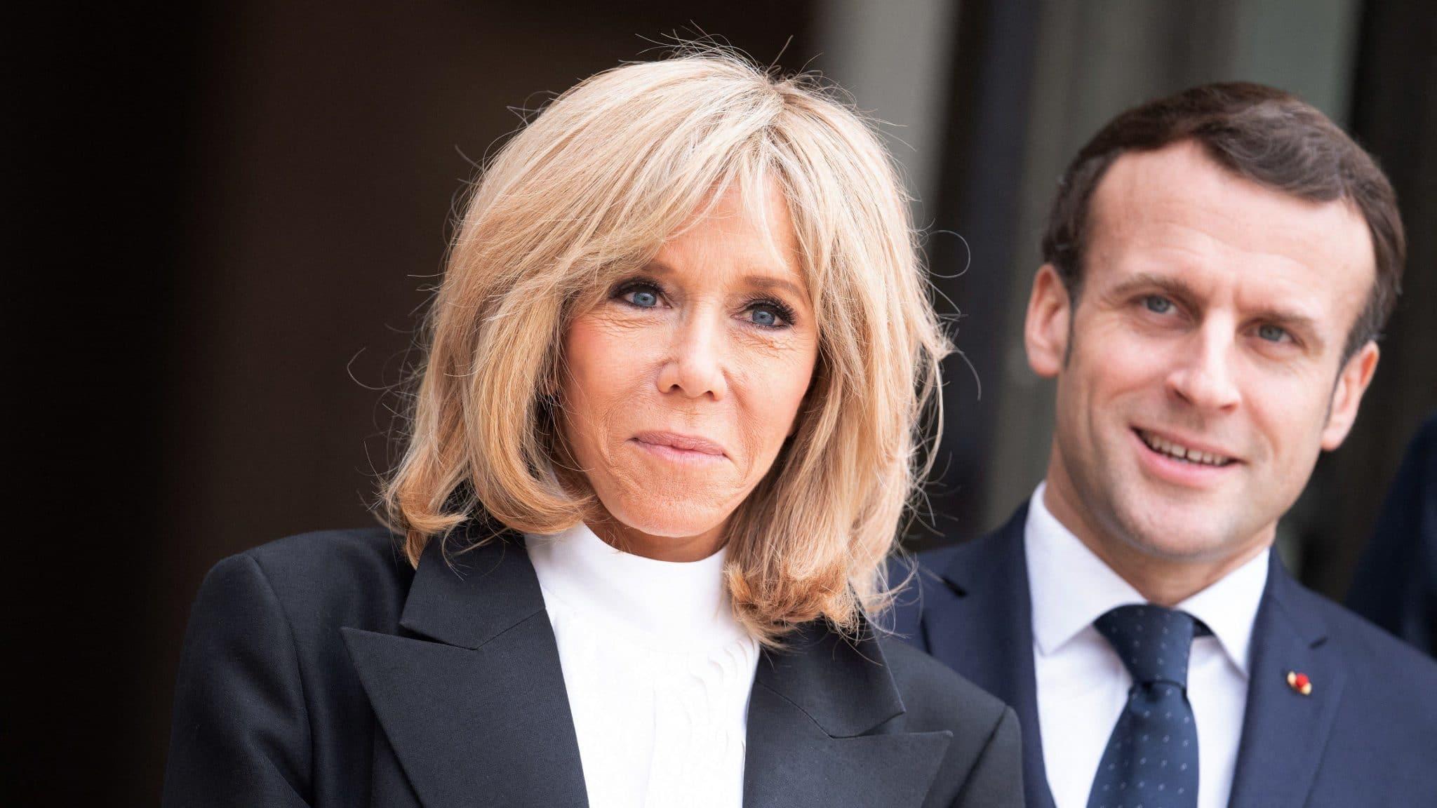 Emmanuel agus Brigitte Macron