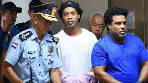 Ronaldinho en prison
