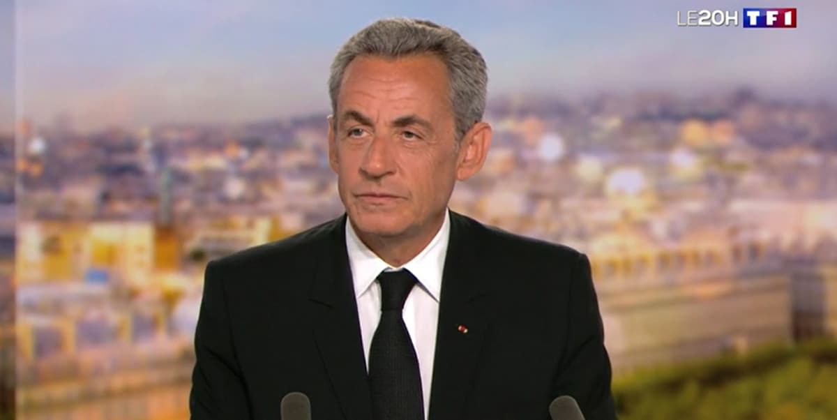 Nicolas Sarkozy annonce parle de son livre sur TF1