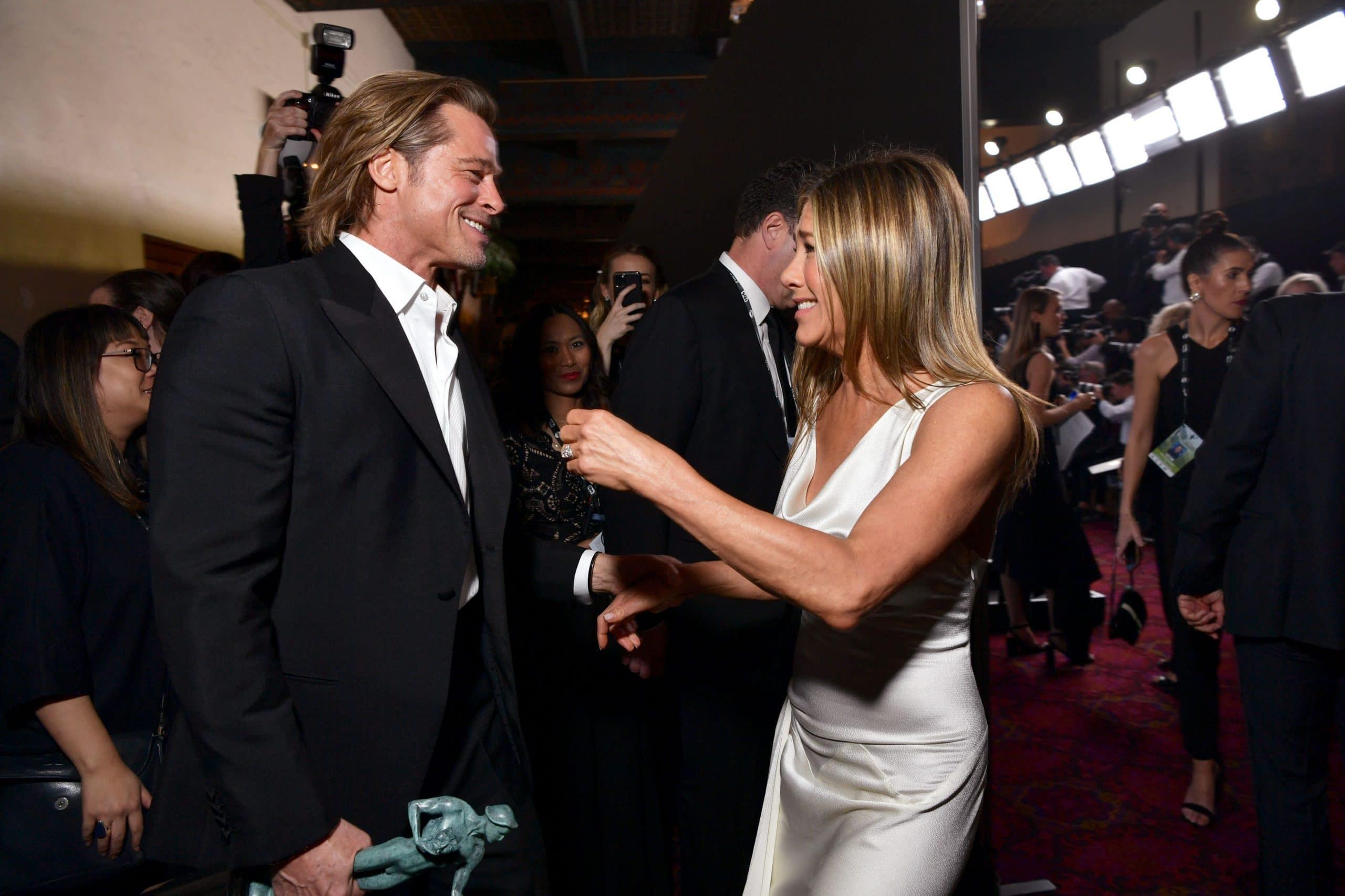 Jennifer Aniston et Bradd Pitt