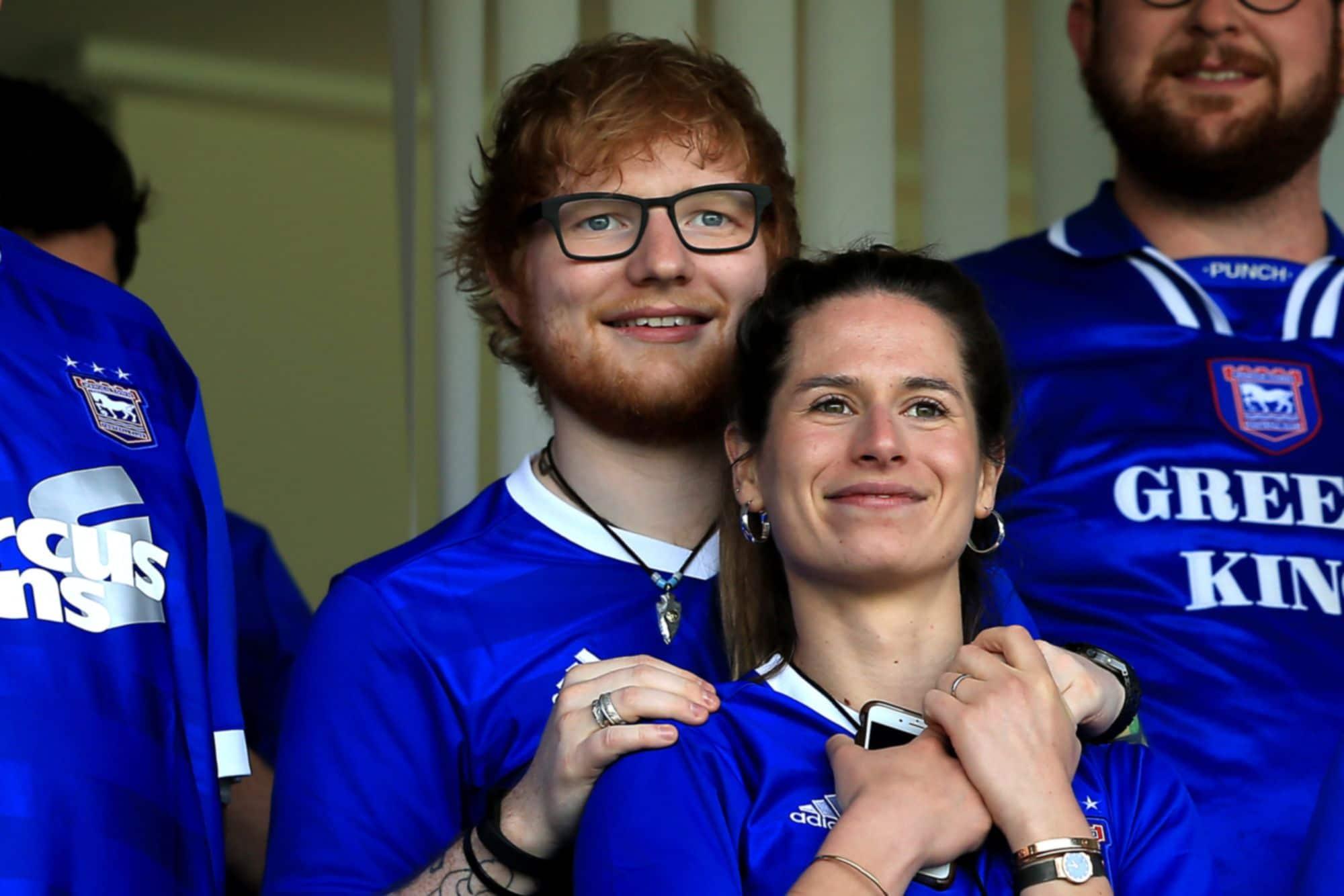 Ed Sheeran et sa femme