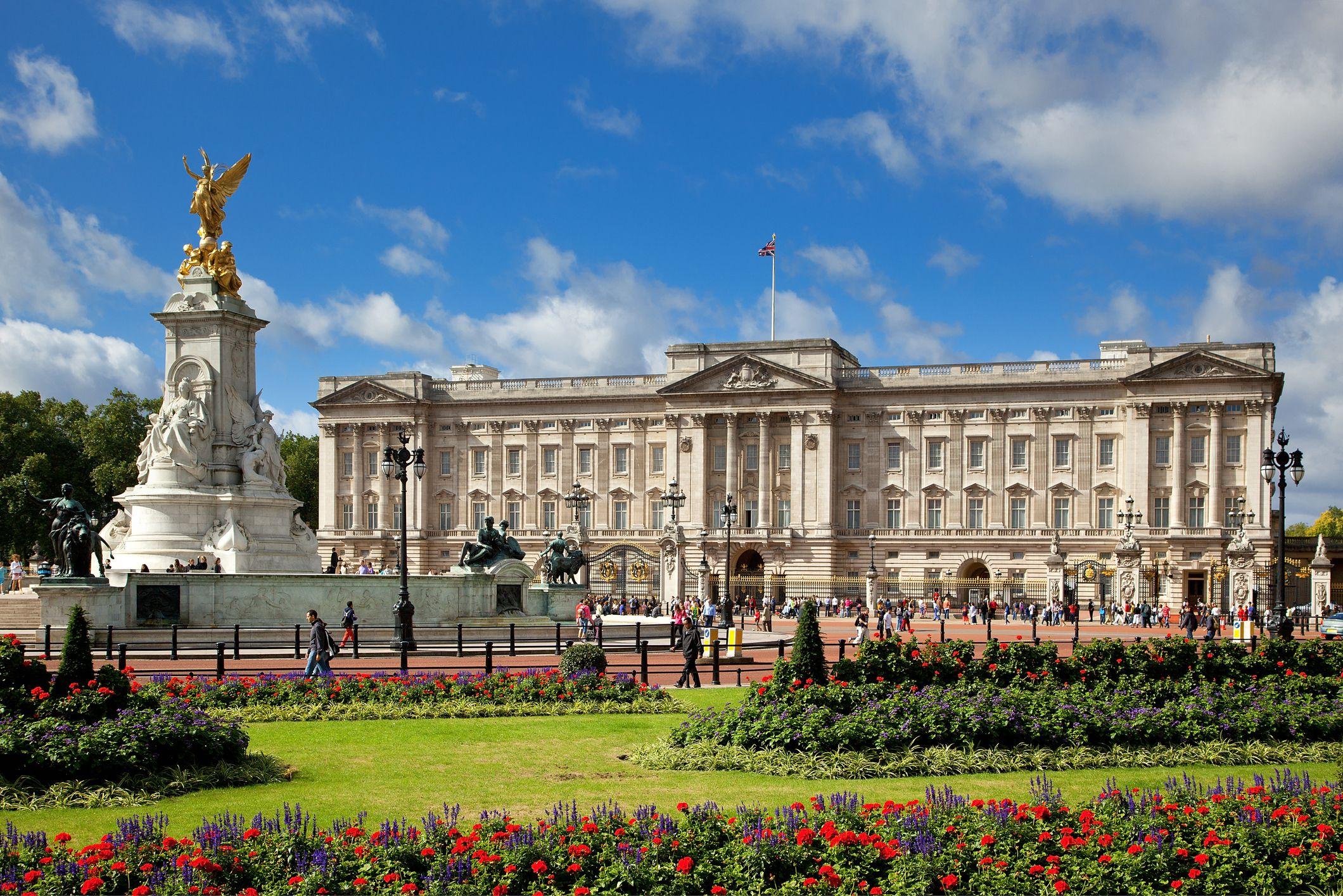 Le palais royale de la Grande Bretagne