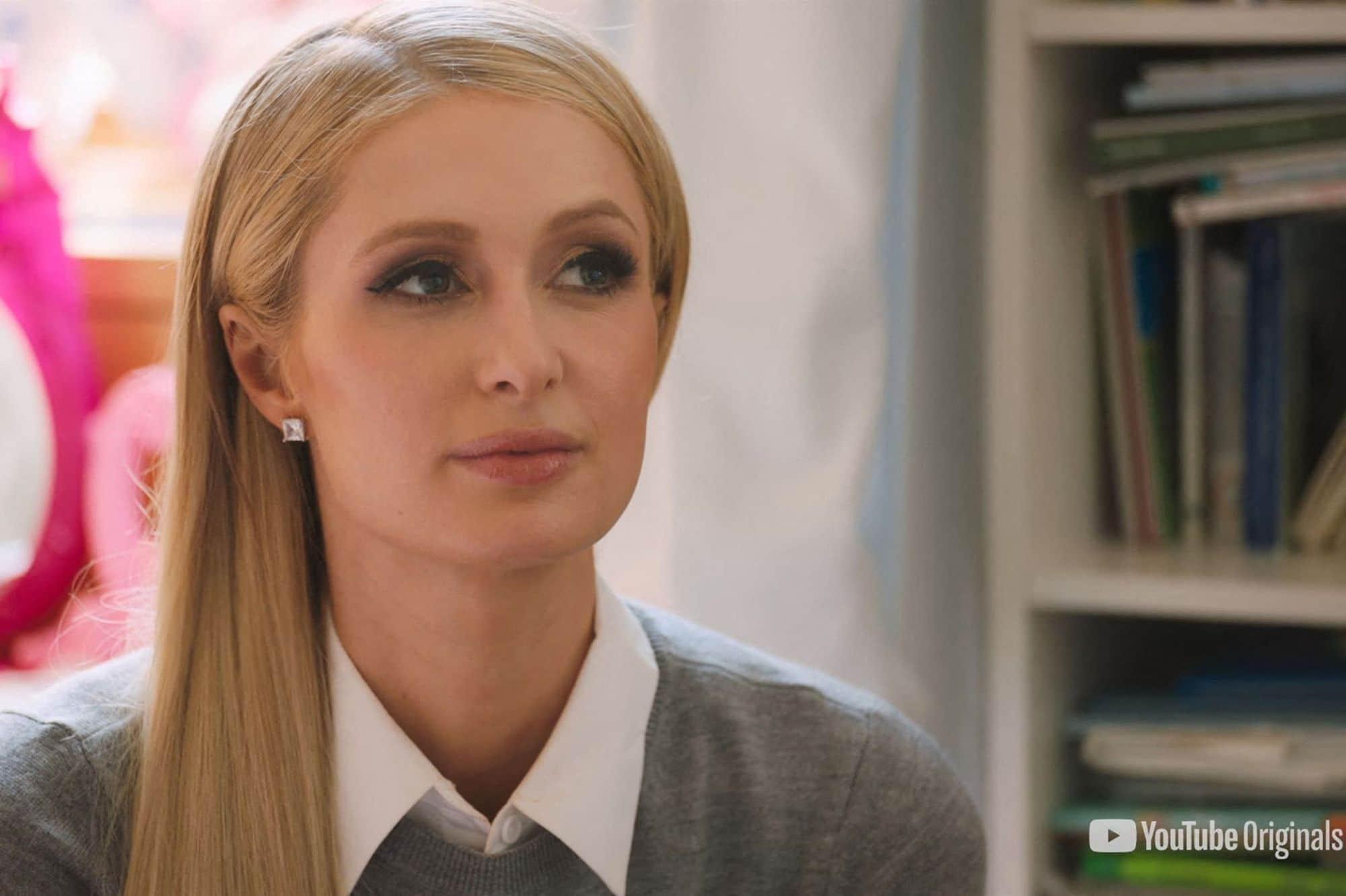 Paris Hilton dans son documentaire