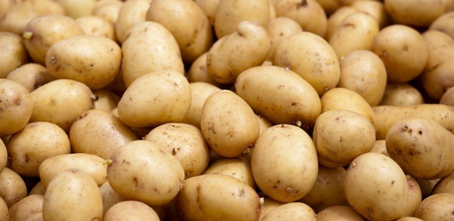 pommes de terre crues