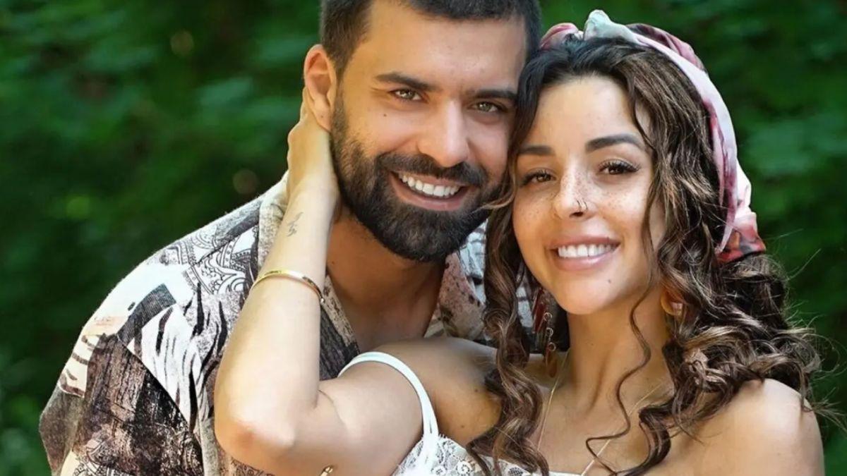 Rym et et son époux Queijo