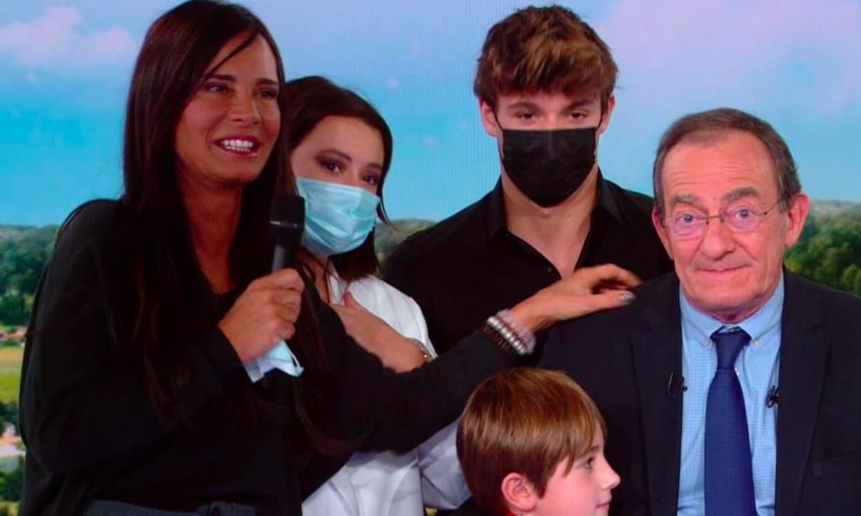 Jean-Pierre Pernaut et sa famille