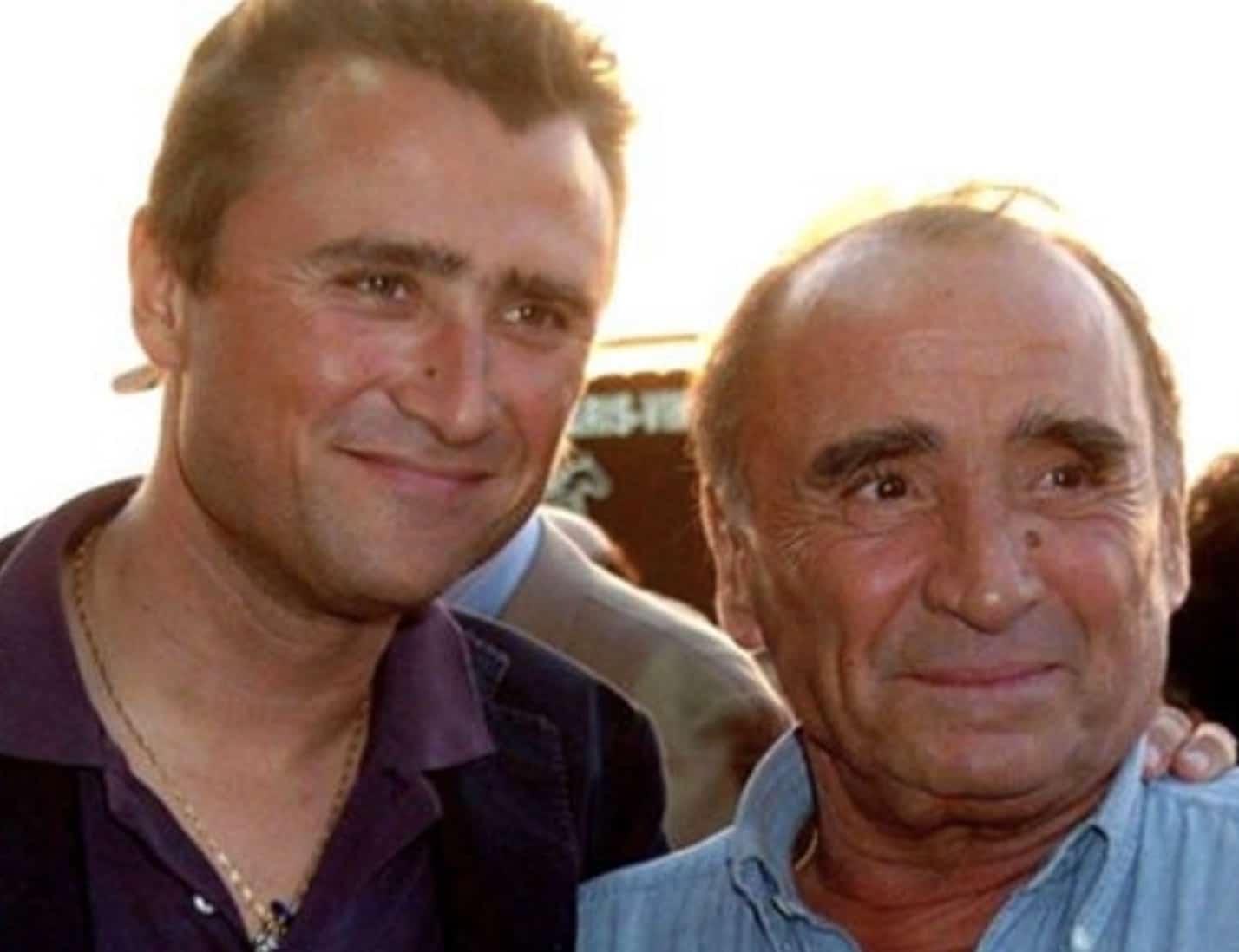 Claude Brasseur et Alexandre