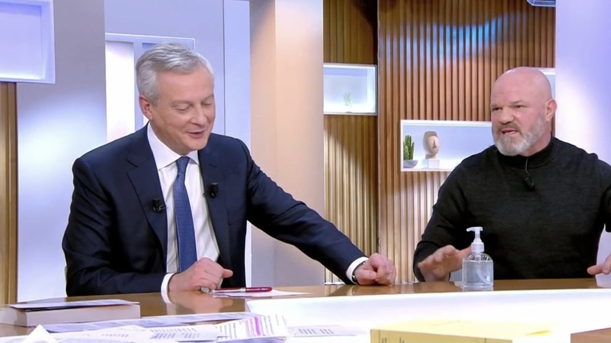 Philippe Etchebest / Bruno Le Maire