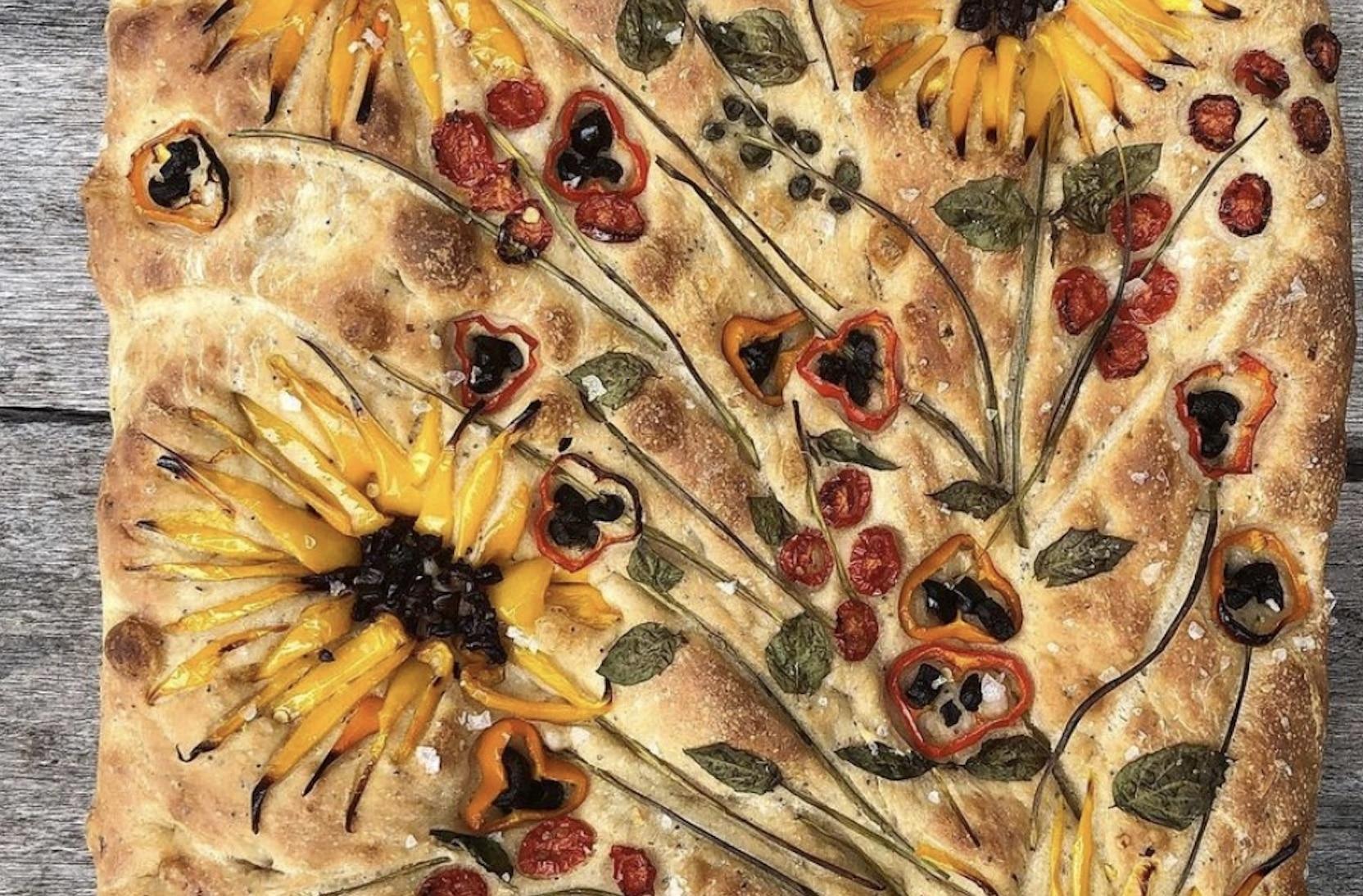 Focaccia Fleurie
