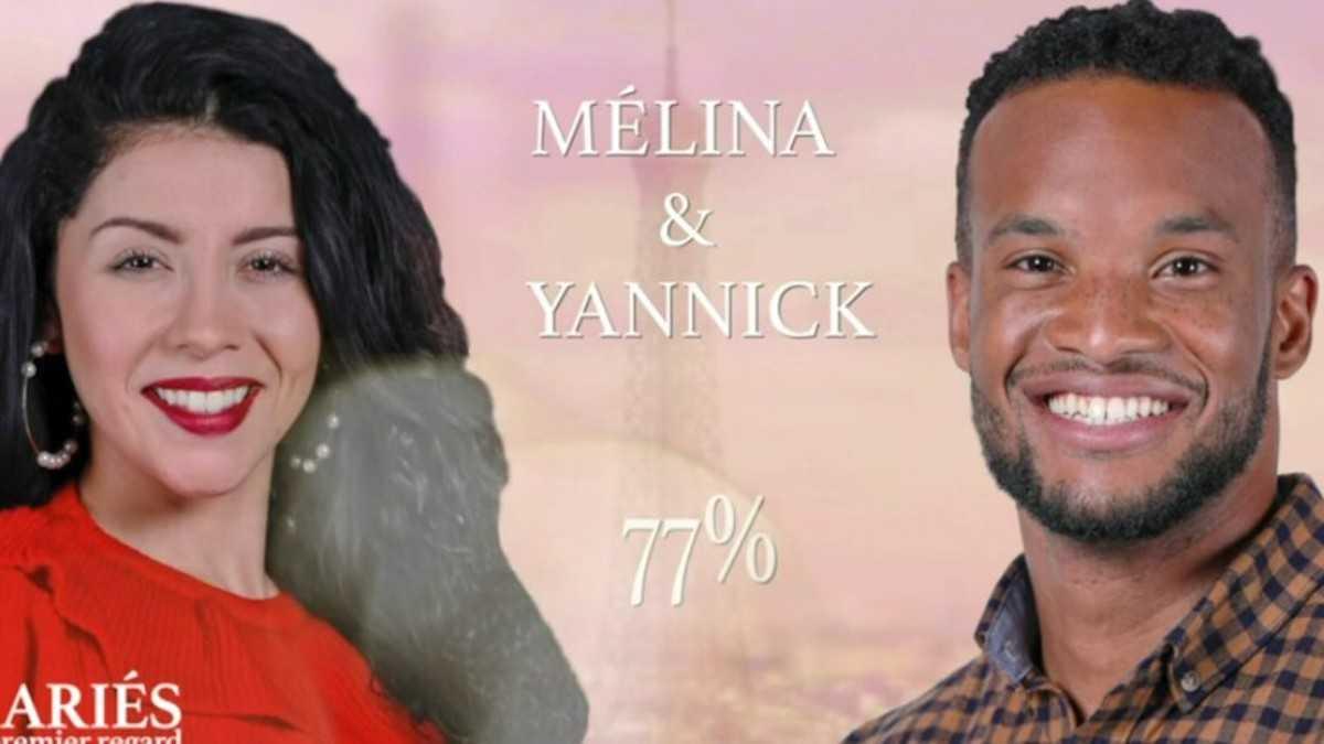 Yannick et Melina de Mariés au premier regard