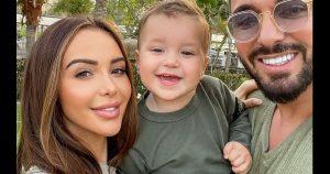 Mère nature fait des caprices et gâche les vacances de Nabilla, Thomas Vergara et de leur fils Milann!