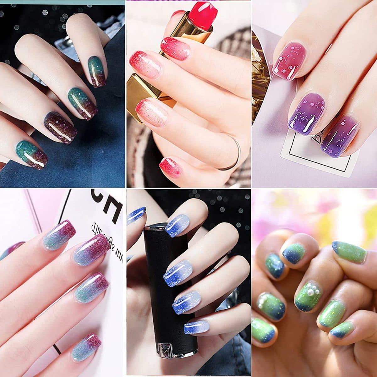 Découvrez l'astuce ultime pour réaliser aisément votre nail art marbré !