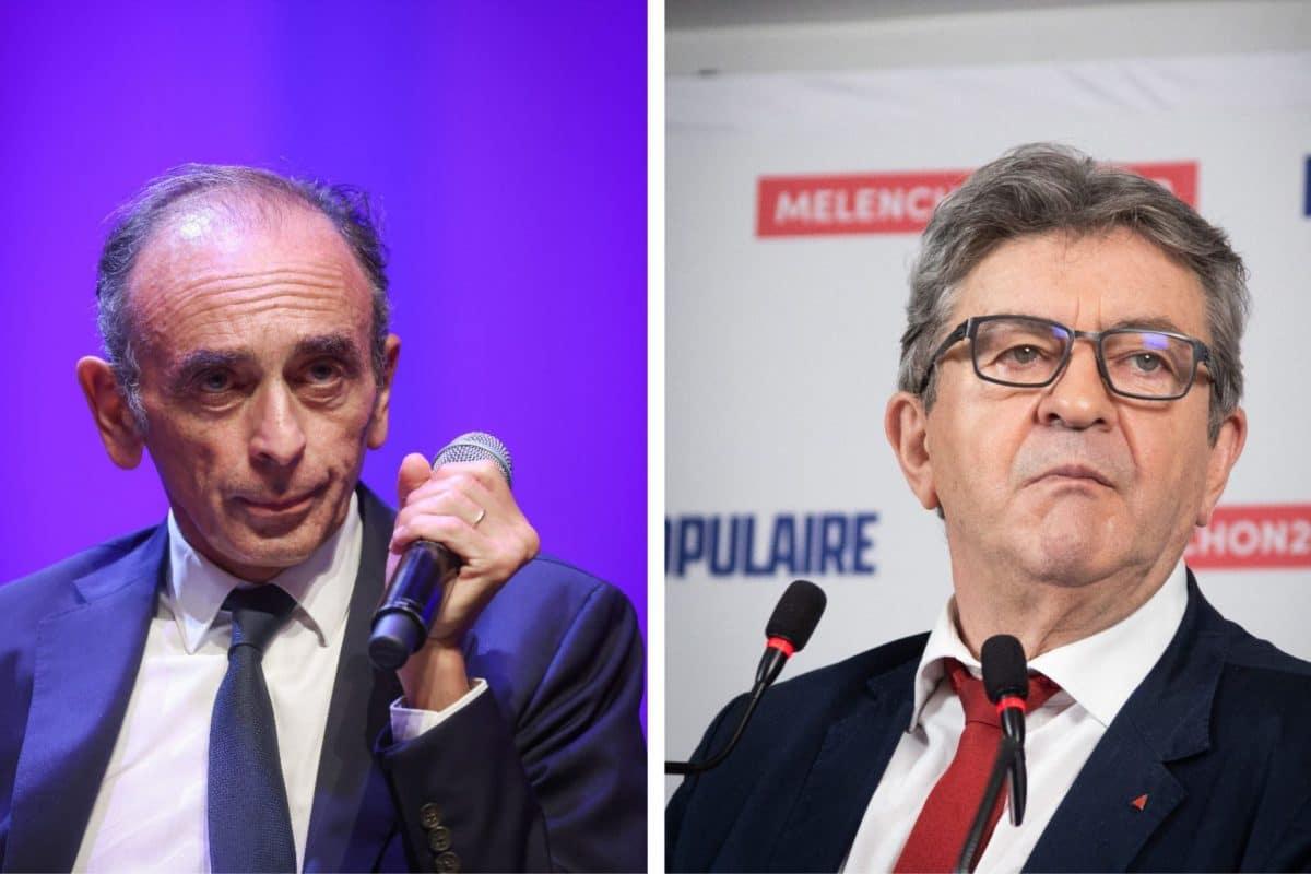 Présidentielle 2022 : face à face Mélenchon–Zemmour, qui est les grands gagnant?