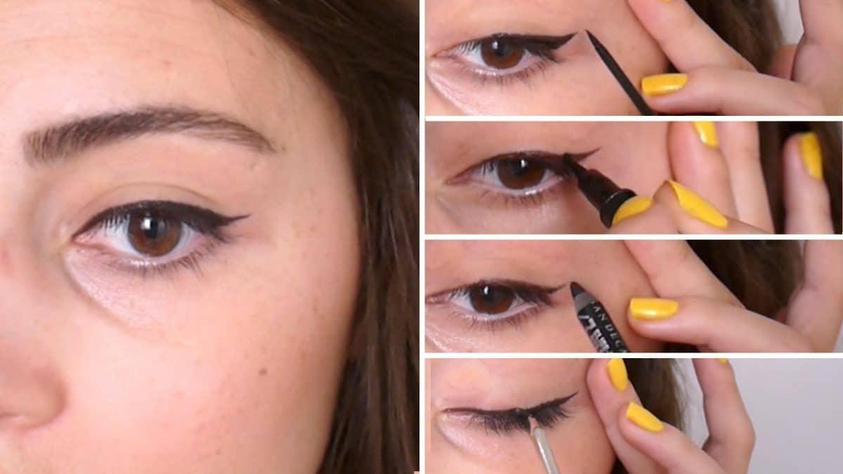 Astuce maquillage: voici comment appliquer l'eye-liner en fonction de la forme de vos yeux!
