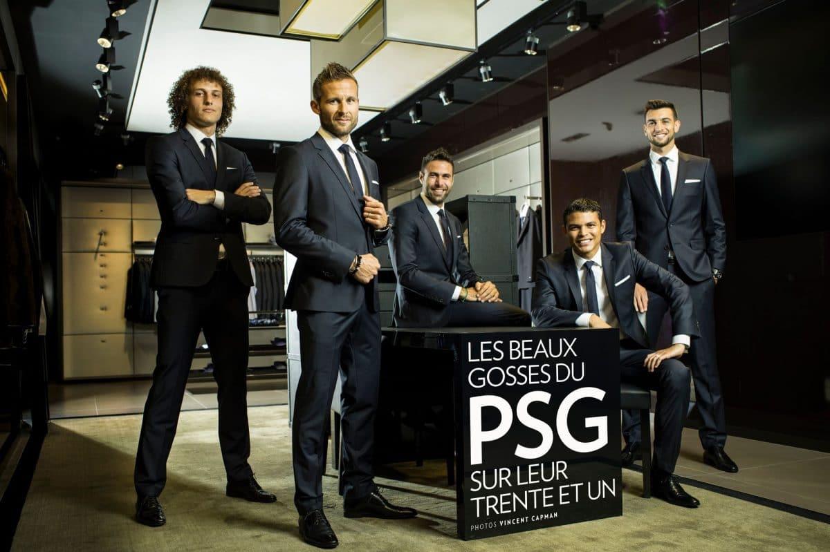 Dior prend la place d'Hugo Boss au PSG!