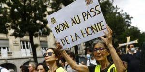 Covid-19 : Les manifestations anti pass-sanitaire se mobilisent pour le douzième samedi consécutif !