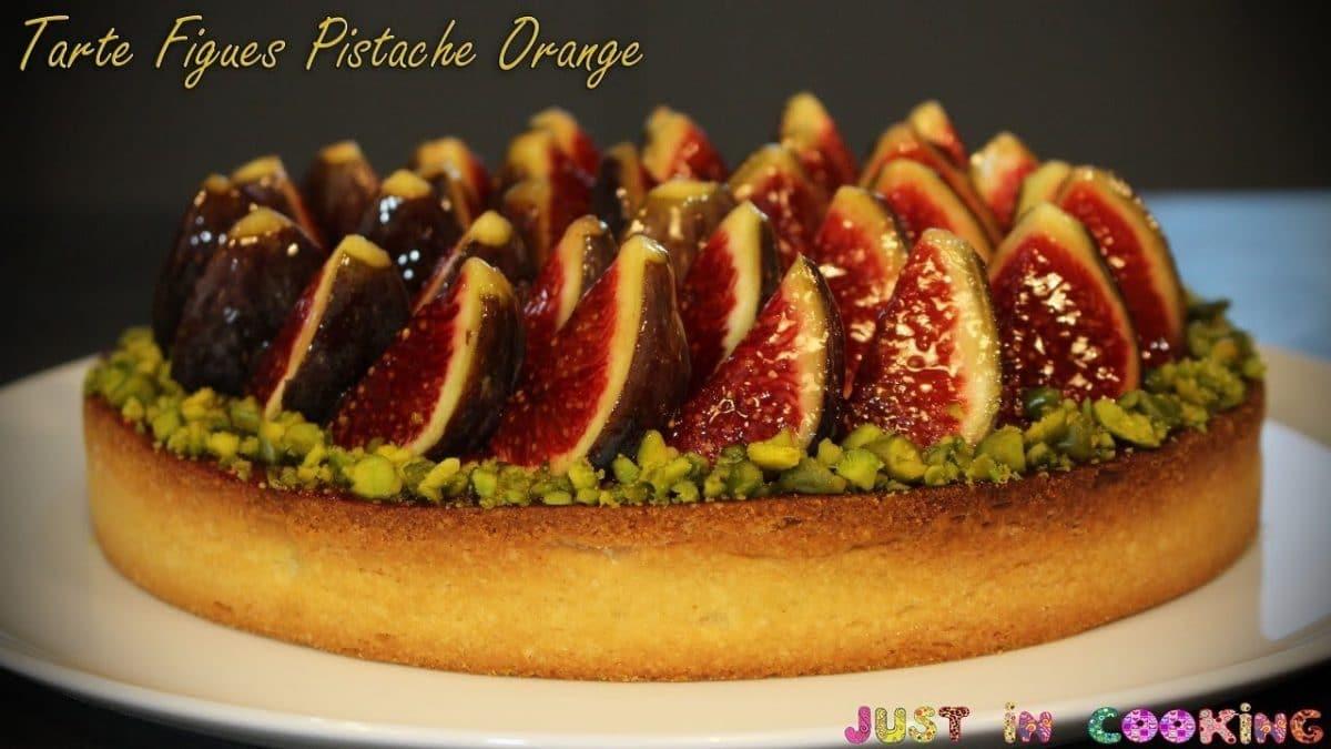 Comment préparer une tarte aux figues fraîches ?