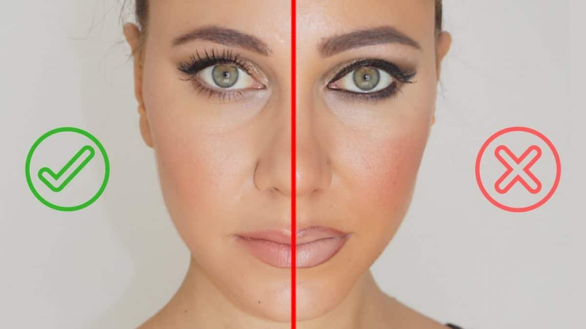 Conseils maquillage: Voici les erreurs à ne pas faire en vous maquillant!