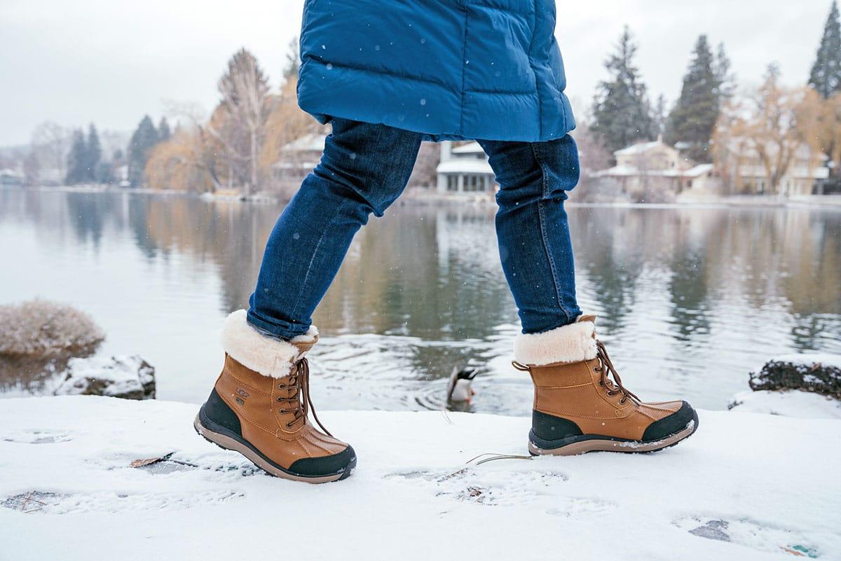 Top X des chaussures à forcément emporter en vacances de neige !